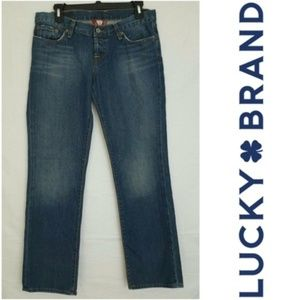 Lucky Brand Crop Dungarees Sweet Dream Jeans 8/29
